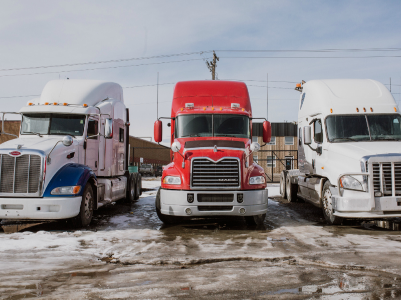 trucks & a short term loan